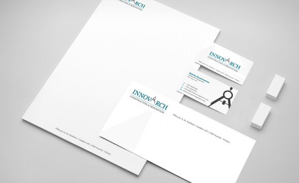 innovarch engineers - business cards
