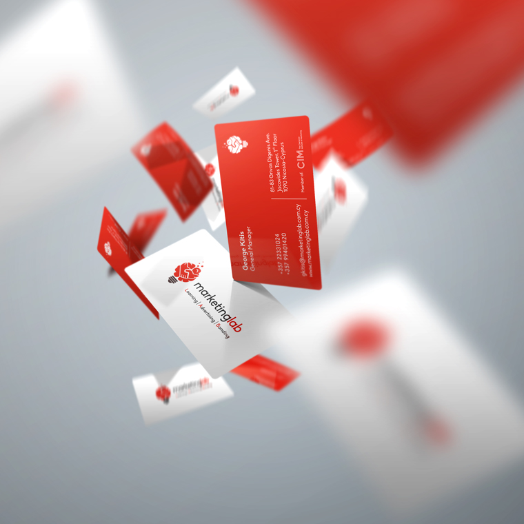 marketing lab business cards