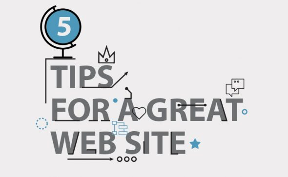 5 tips for a great web site